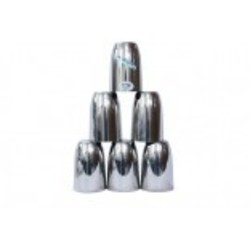 Stainless Steel 6 Pcs Glass Set
