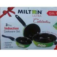 Branded Stainless Steel 3 Pcs