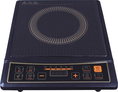 Branded Induction Cooker With Steel Kadai