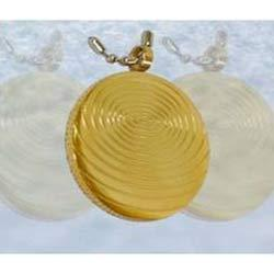 gold pendents